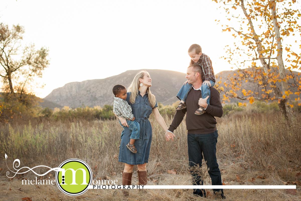 Adoption Ethiopia family photos