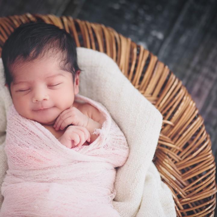 Mini Newborn Session San Diego Studio Photographer
